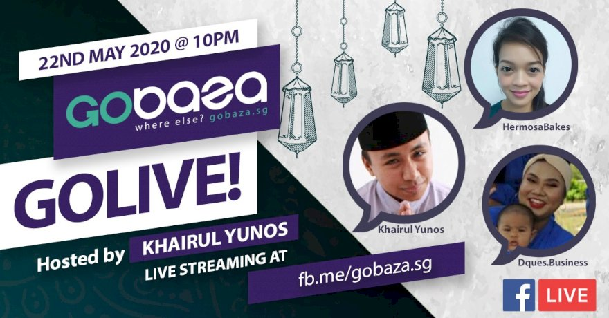 GOLIVE with GOBAZA episode 2, 22th May 2020