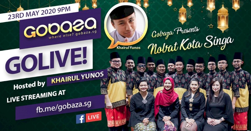 GOLIVE with GOBAZA Episode 3, 23 May 2020 - Malam Raya Special!