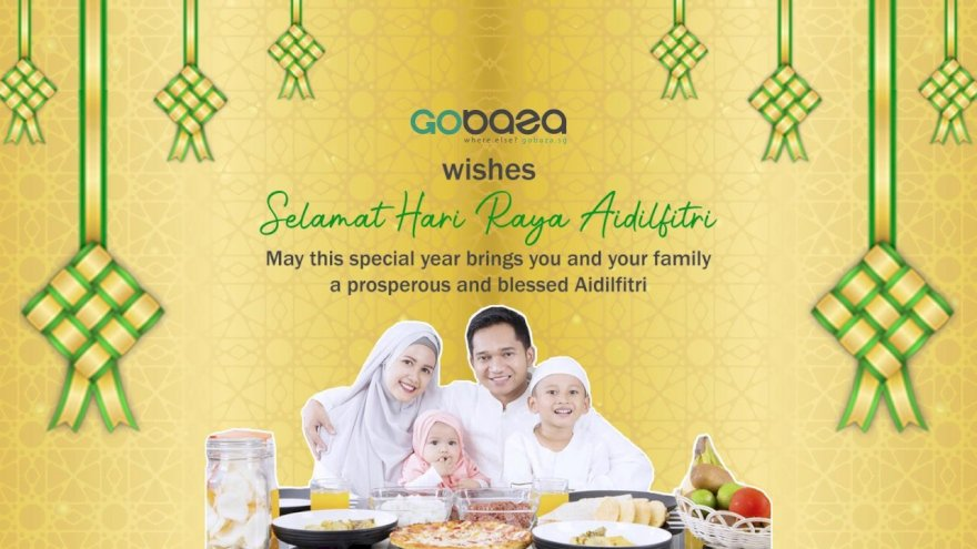Selamat Hari Raya From Gobaza.sg!