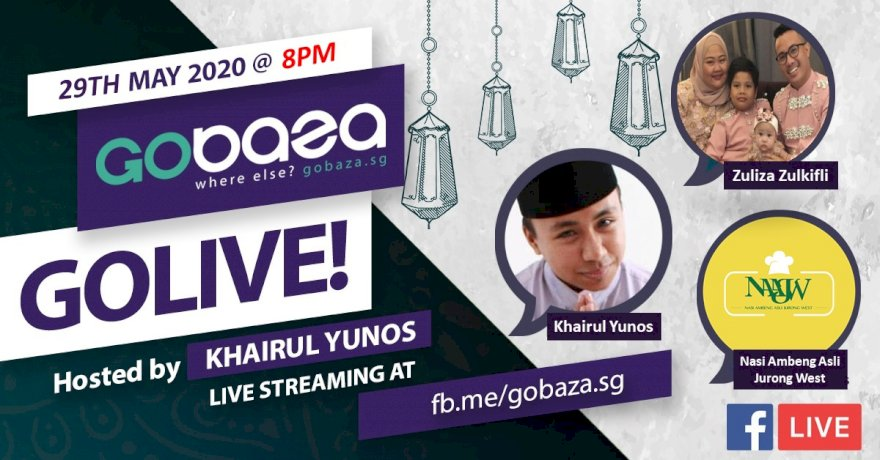 GOLIVE with GOBAZA Episode 4, 29 May 2020