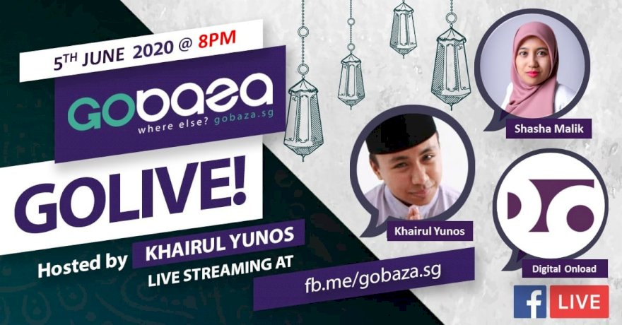 GOLIVE with GOBAZA Episode 5, 5 June 2020